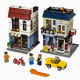Bike Shop and Cafe  (31026)  Released 2014.  1,023 pieces!