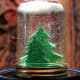 Snow globe using a mason jar