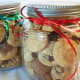 Cookie gifts in a jar