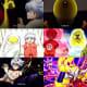 Reference to Dragon Ball, Hunter x Hunter and Saint Seiya.