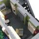 LEGO Creator Parisian Restaurant Modular Building | The second floor.