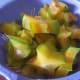 Cutting star fruit
