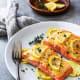 Easy-baked lemon dijon salmon