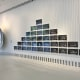 "Anish Kapoor ""Hexagon Mirror"", 2007 and Robin Rhode ""Table of Contents"", 2006."