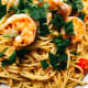 Spaghetti aglia e olio is one of my personal favorite. I enjoy making it because it's quick and simple.