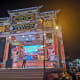 Big karaoke stage at Jonker Street