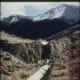Fault scarp and horizontal offset near Dickey, Idaho Oblique-Slip Faulting
