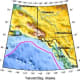 Location of quake