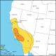 Fort Tejon Earthquake Isoseismal Map