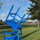 Fun art at Rainy River Community College, Hiway 11/71 West.