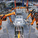 Robots in Automobile Manufacture