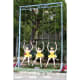 Balançoire aux Ballerines by Louis Canes - Three ballerinas on swings