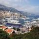 The harbour, Port Hercule, at Monaco