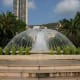 Fountain in front of the Monte Carlo Casino