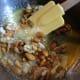 glaze the almonds