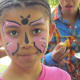 Face painting was also part of fun.