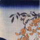 "Utagawa Kuniyoshi (1797-1861), ""Red Carp Under Wisteria."""
