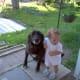 Dakota with my niece.