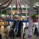 Inside Batam Center Point International Ferry Terminal
