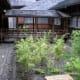 A courtyard garden at Tamozawa villa.