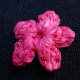 Photo #8: 3D POINTED-CENTER CLUSTER Flower Back View