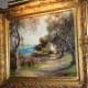 """A Garden at Cap Ferrat on the Riviera"" by Louis Aston Knight"