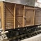 Ex-LMS Meat van with added brass wire grab rails