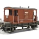 Bachmann British Railways brake van based on LNER Toad 'D' prototype that I modified. Fitted with lost wax brass vacuum pipe stanchions and Jackson screw couplings. Image taken for DOGA Spring AGM meeting competition results (see web site).