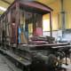 LNER/BR 'Toad E' skeleton awaits preservation at NYMR workshop near Grosmont