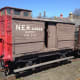 North Eastern Railway 'birdcage' brake van assigned to Tyne Dock yard