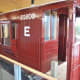Close-up of NER 'Toad B' brakevan with guard's ducket cut away to allow visitors a view inside without the need to board