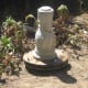 The pedestal is now on your Birdbath Adjustable Foundation. You are ready to begin leveling the project.
