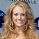 Carrie Underwood's curly long hairstyle