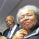 Special sections were designated for the elderly. Walker and Susie, thoroughly enjoyed the convention.