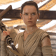 Rey,(Daisy Ridley), the last and best Jedi.