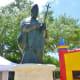 Sculpture of St. Pope John Paul II