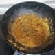 Add tomato puree and saute till it releases oil