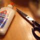 Good scissors cut the felt. School glue or a hot glue gun are essential.