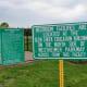 Signs at the Millie Bush Bark Park