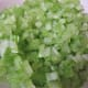 Finely chopped celery