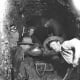 Mining in a shaft, 1898