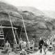 Hill-side mining, showing rockers, c.1899
