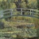 Monet's Water Lily Pond: Monet's painting of the pond near his garden.