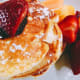 Homemade pancakes are always the best. Make them for your family and don't forget to serve them with maple syrup!