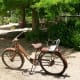 Old rusted bicycle