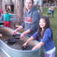 Panning for gold with the Circle B Chuckwagon.