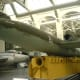 A V-1 at the Imperial War Museum Duxford , 2009.  In the background is a Gloster Meteor.