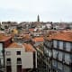 View of Porto from Se Catedral terrace.