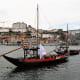 Barcos rabelos along Cais de Gaia.