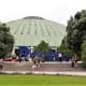 Exhibition center in Jardim do Palacio de Cristal.
